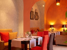 Vous aurez accès aux nombreux restaurants de l'hôtel Eagles Palace