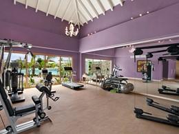 La gym de l'hôtel Eden Roc en République Dominicaine