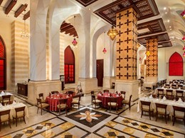 Restaurant Mawal de l'Emirates Palace à Abu Dhabi