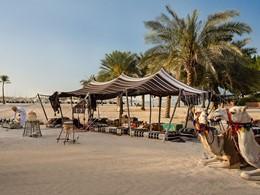 Tente Bédouine de l'hôtel Emirates Palace à Abu Dhabi