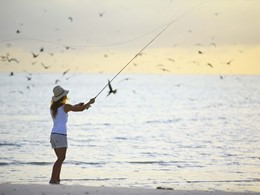 Pêche à la mouche au &Beyond Mnemba Island