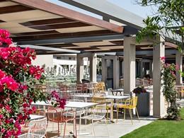 Le restaurant Piatto de l'Euphoria Resort en Grèce