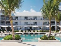 La piscine de l''hôtel