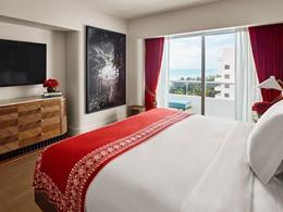 Partial Ocean View Room du Faena Hotel Miami Beach