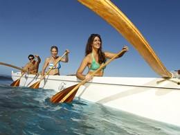 Activité nautique de l'hôtel Fairmont Kea Lani à Hawaii