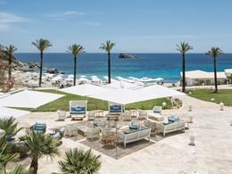 Splendide vue sur la mer Méditerranée