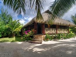 Bungalow Plage Prestige du Fare Pea Iti Tahaa en Polynésie