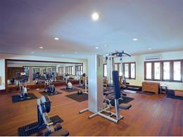 La salle de sport du Filitheyo Island Resort