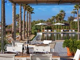 Beach Club de l'hôtel Finca Cortesin à Marbella