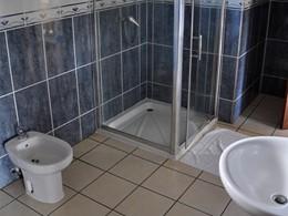Salle de bain d'un bungalow