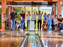 Partie de bowling