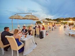 Le restaurant Forte Bay