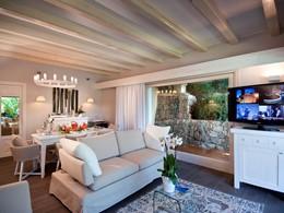 Le salon de la Villa Lavinia