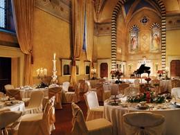 La salle de réception et sa magnifique décoration