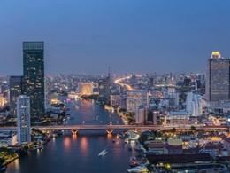 Vue de la capitale thaïlandaise