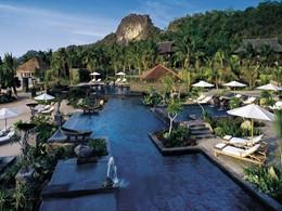 Vue de l'hôtel Four Seasons Langkrawi en Malaisie