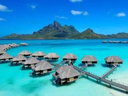 Les superbes villas de luxe du Four Seasons à Bora Bora