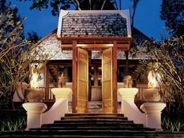 L'entrée de l'école de cuisine du Four Seasons Resort Chiang Mai