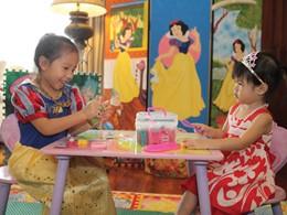 Coin enfants de l'hôtel Four Seasons Chiang Mai en Thailande