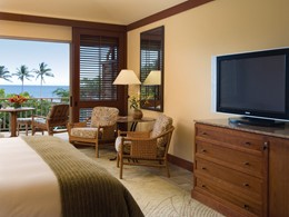 Ocean Front Room du Four Seasons Hualalai