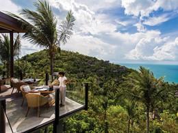 Magnifique vue depuis le restaurant KOH du Four Seasons