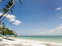 La magnifique plage du Four Seasons Koh Samui
