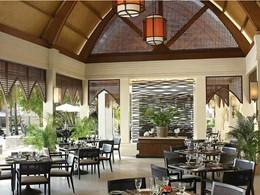 Café Huraa de l'hôtel Four Seasons aux Maldives