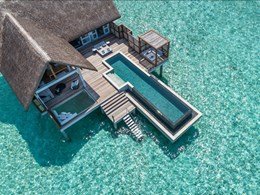 Family Water Villa With Pool
