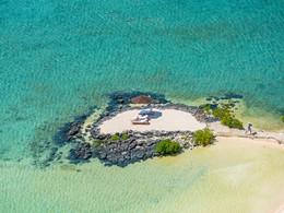Îlot privé de l'hôtel Four Seasons à l'Ile Maurice