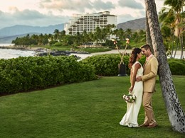 Mariage unique au Four Season Oahu à Hawaii