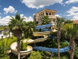 Le toboggan de l'hôtel Four Seasons à Orlando