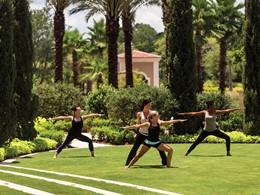 Yoga au Four Seasons Orlando, situé aux Etats-Unis