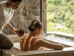 Spa de l'hôtel 5 étoiles Four Seasons Seychelles