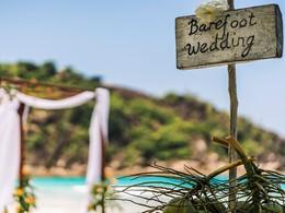 Mariage dans un cadre unique au Four Seasons Seychelles