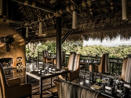 Le restaurant Nong Yao du Four Seasons Tented Camp