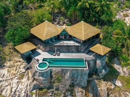 Vue de la Private Pool Villa