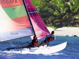 Activité nautique du Fregate Island aux Seychelles
