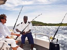 Pêche au Fregate Island situé aux Seychelles