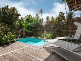 La terrasse de la Suite Presqu'île
