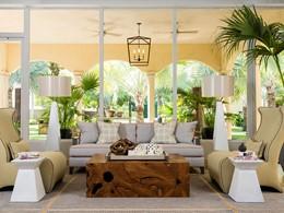 Lobby du Grace Bay Club situé sur l'île de Providenciales