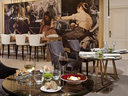 Délicieuse cuisine moderne au restaurant Coroa du Gran Meliá