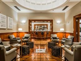 Le Cupole Bar du Grand Hotel de la Minerve, en Italie