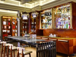 Bistro Bar du Grand Hotel Minerva en Italie