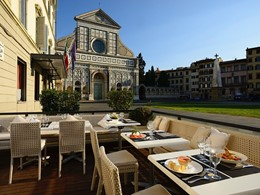 Bistrot Al Fresco du Grand Hotel Minerva en Italie