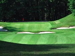 Le terrain de golf
