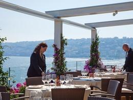 La terrasse du restaurant Caruso