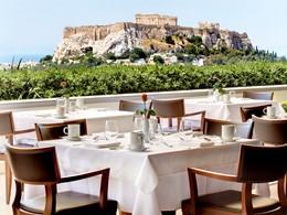 Fantastique vue sur l'Acropole