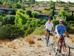 Balade à vélo dans la région