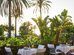Le restaurant Lagoon Mediterranean