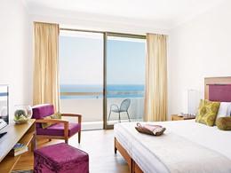 Superior Sea View Room du Grecotel Lux Me Rhodos